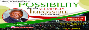 May - Possibility for the seemingly impossible