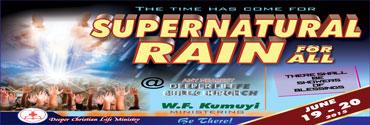 June - Supernatural Rain for All